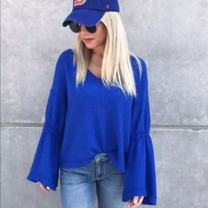 NWT Free People Top Sz L Large